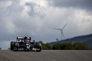 F1ポルトガルFP1速報:ボッタスがトップ発進、フェルスタッペン肉薄も2番手。角田裕毅は13番手