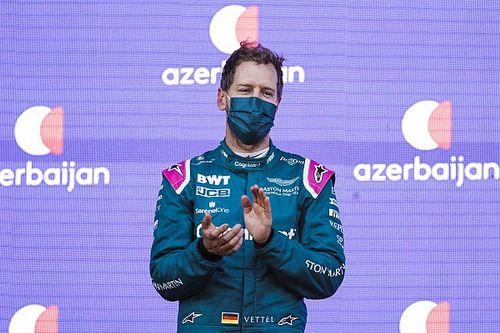 Vettel, Aston Martin'in podyumla beraber momentum kazanmasını umuyor