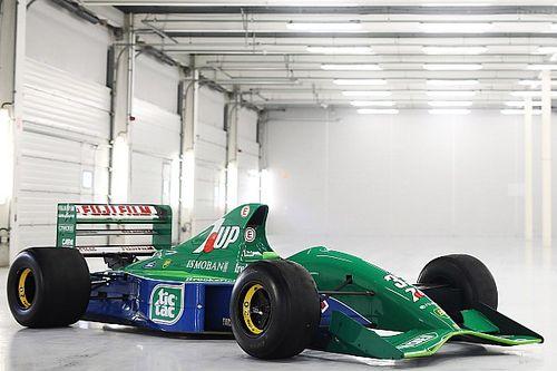 F1: Jordan 191 da estreia de Schumacher está à venda; valor deve chegar a R$9 milhões
