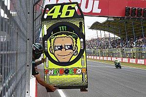 """Rossi maakt goede stappen """"in het paradijs voor coureurs"""""""