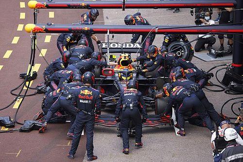 Por qué Red Bull no fue por la vuelta rápida con Sergio Pérez