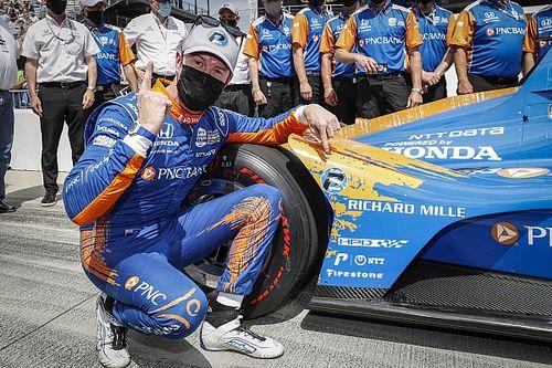 Indy 500: Dixon claimt pole-position, VeeKay op eerste rij