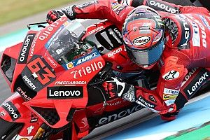 """Bagnaia: """"Ducati in difesa? Presto per dirlo"""""""