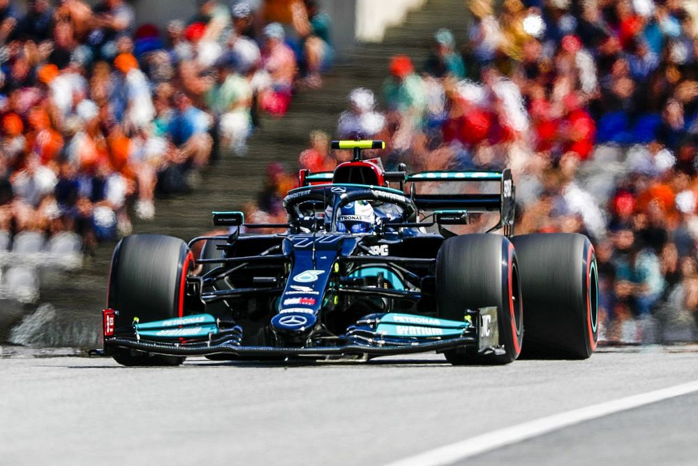 Bottas convoqué par les commissaires du GP d'Autriche