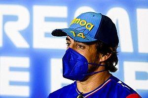 Alonso először nem érez fájdalmat kerékpárbalesete óta