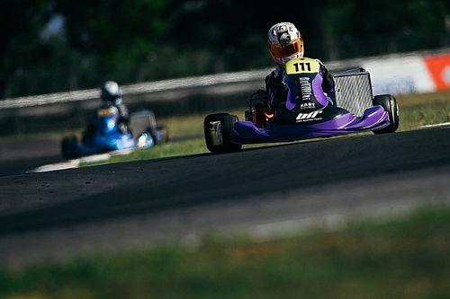 Rafa Câmara tem primeiro abandono do ano, mas segue no top 3 no Europeu de Kart