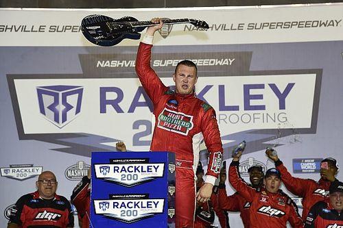 Ryan Preece wins Truck race in NASCAR's return to Nashville