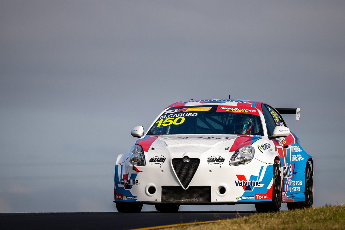 Sydney TCR: Caruso wins shortened finale thumbnail