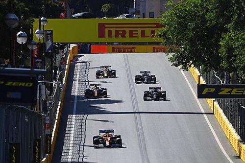 Así queda la parrilla de salida del GP de Azerbaiyán de F1 2021