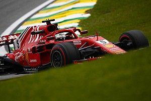 FP3 GP Brasil: Vettel tercepat, Hamilton kedua tapi bermasalah