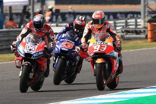 El semáforo del Gran Premio de Tailandia de MotoGP