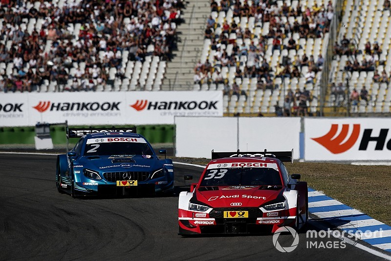 Hockenheim DTM: Rast outduels Paffett to keep title hopes alive