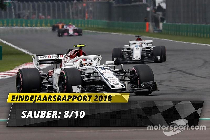 Eindrapport Sauber: Weer een team om rekening mee te houden