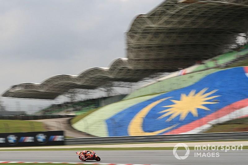 Los pilotos de MotoGP piden adelantar una hora la carrera de Sepang