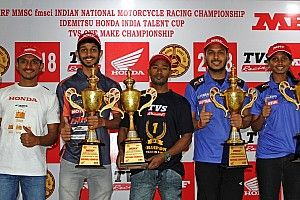 Chennai National Motorcycle: TVS rider Jagan secures seventh title