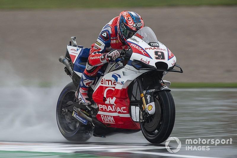 Гран Прі Валенсії: Петруччі очолив протокол третьої практики, через аварію Россі залишився поза Q2