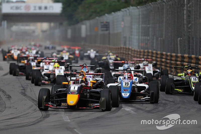 Macau Grand Prix 2019: ecco la entry list di FIA F3 International