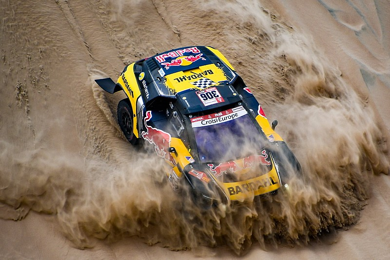 Top 50 awesome photos from the Dakar Rally so far