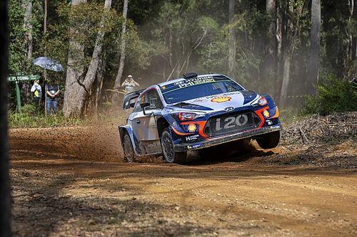 WRC Rallye Australien 2018: Neuville rammt Schikane - Reifenschaden!