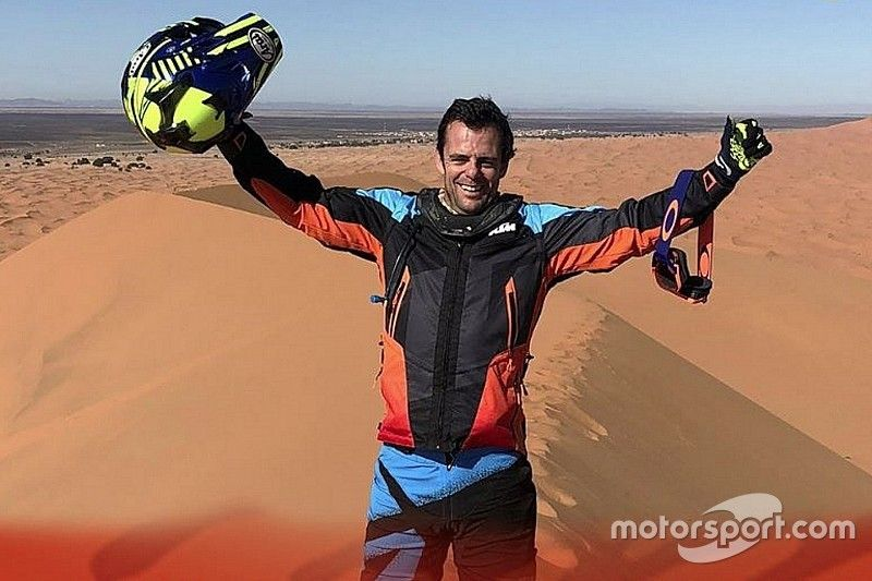 """Dakar, Caetano realizza il sogno di una vita: """"Mi sono dato una sola chance, quindi devo finire la gara"""""""