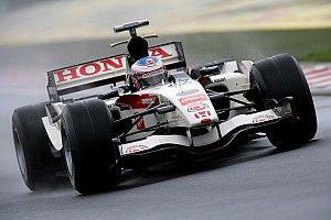 F1開幕記念。ホンダ・ウエルカムプラザ青山で、歴代F1マシン4台を展示するイベントがスタート