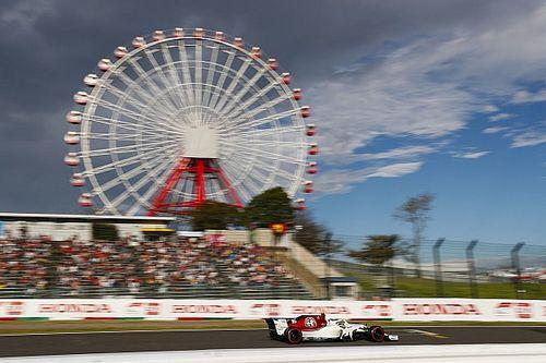 Fotostrecke: Der Alfa Romeo Sauber im Großen Preis von Japan