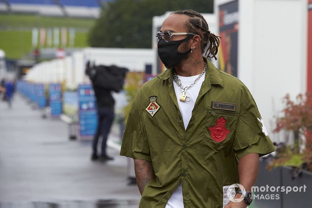 "Hamilton opens up on ""interesting"" anti-racism driver talks"