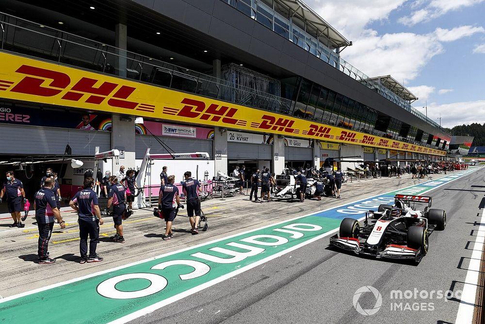 La FIA punisce la Haas: Grosjean partirà dalla pit-lane in Stiria