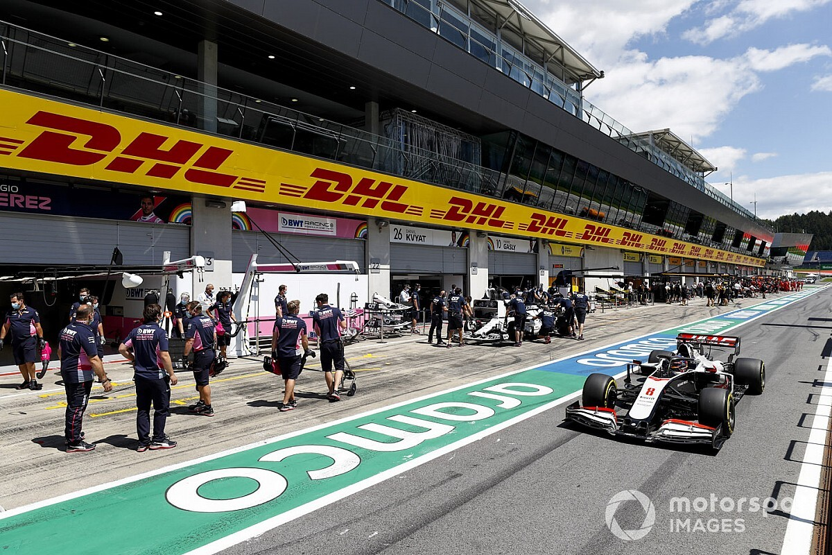 La FIA punisce la Haas: Grosjean partirà dalla pit-lane in Stiria