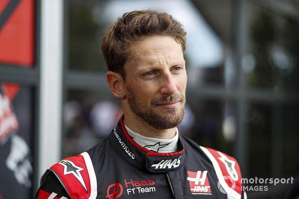 """Grosjean """"pas trop inquiet"""" bien que Haas n'ait pas roulé"""