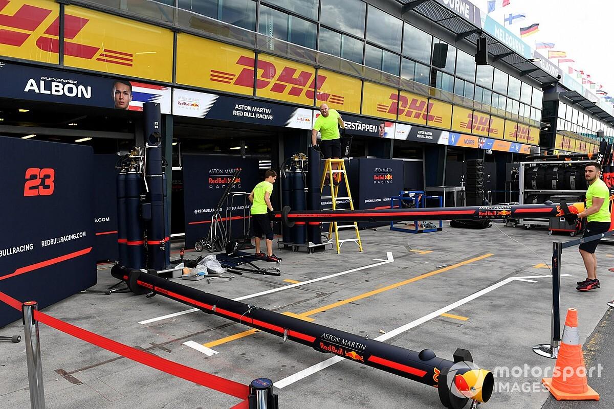'F1 overwoog race door te laten gaan met afgegrendelde paddock'