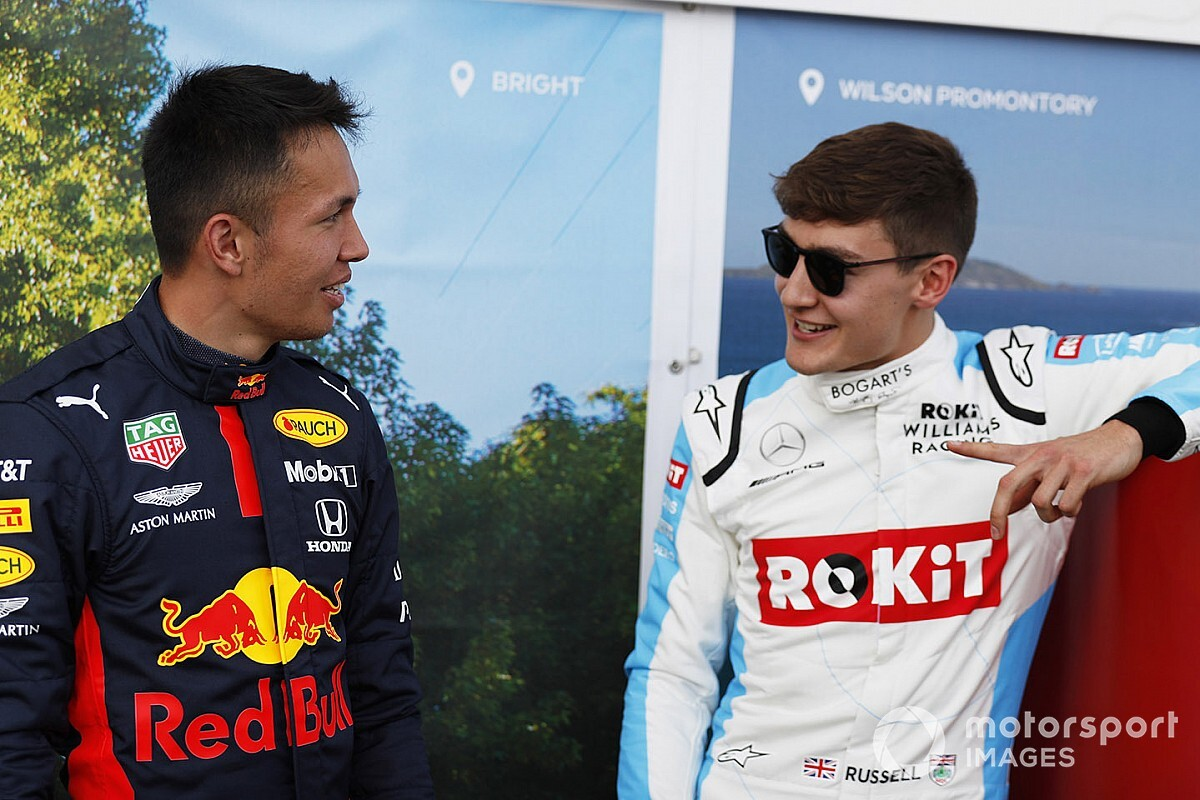 Verstappen tells Russell to focus on his own car