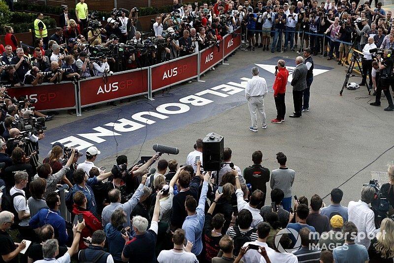 """No suggestion whatsoever"" Australian GP put F1 in danger"