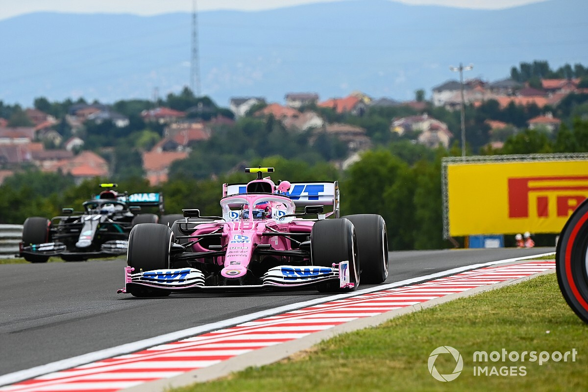Racing Point faster than Mercedes in some corners - Wolff