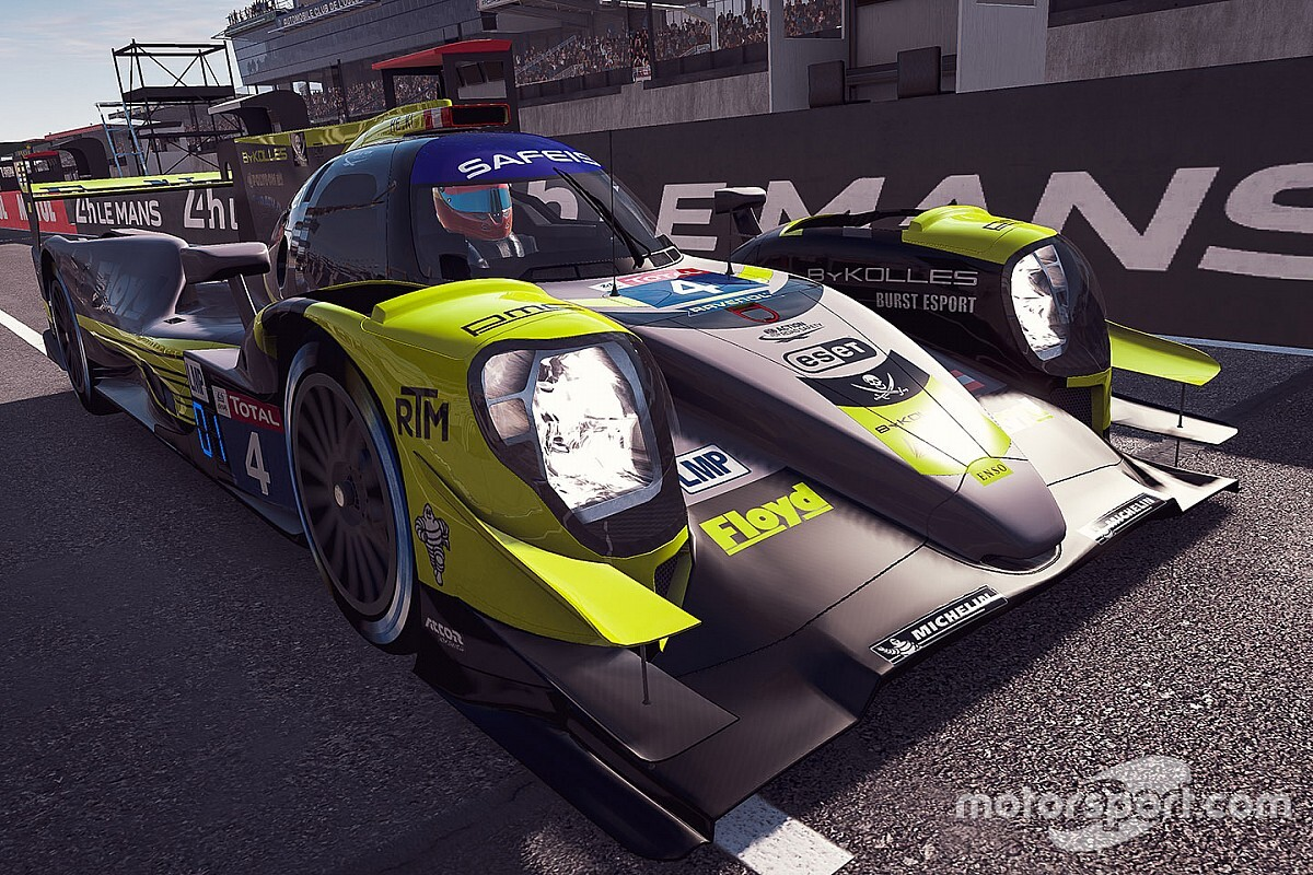 Guerrieri sale desde la pole en las 24 Horas de Le Mans Virtual