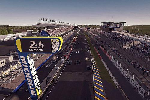 De Nederlandse deelnemers aan de virtuele 24 uur van Le Mans