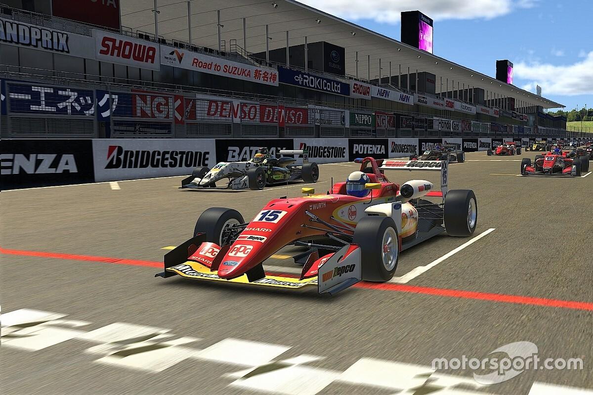 Erick Goldner coloca a Shell na pole e conquista quarto lugar no Desafio Virtual das Estrelas