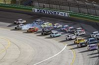 "Kevin Harvick: Final two-lap restart ""got wild"" at Kentucky"