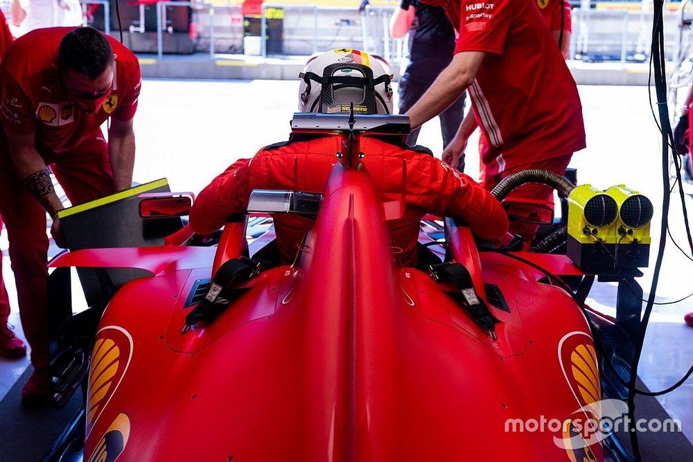 Teknik analiz: Ferrari'nin ön kanat ve taban güncellemeleri