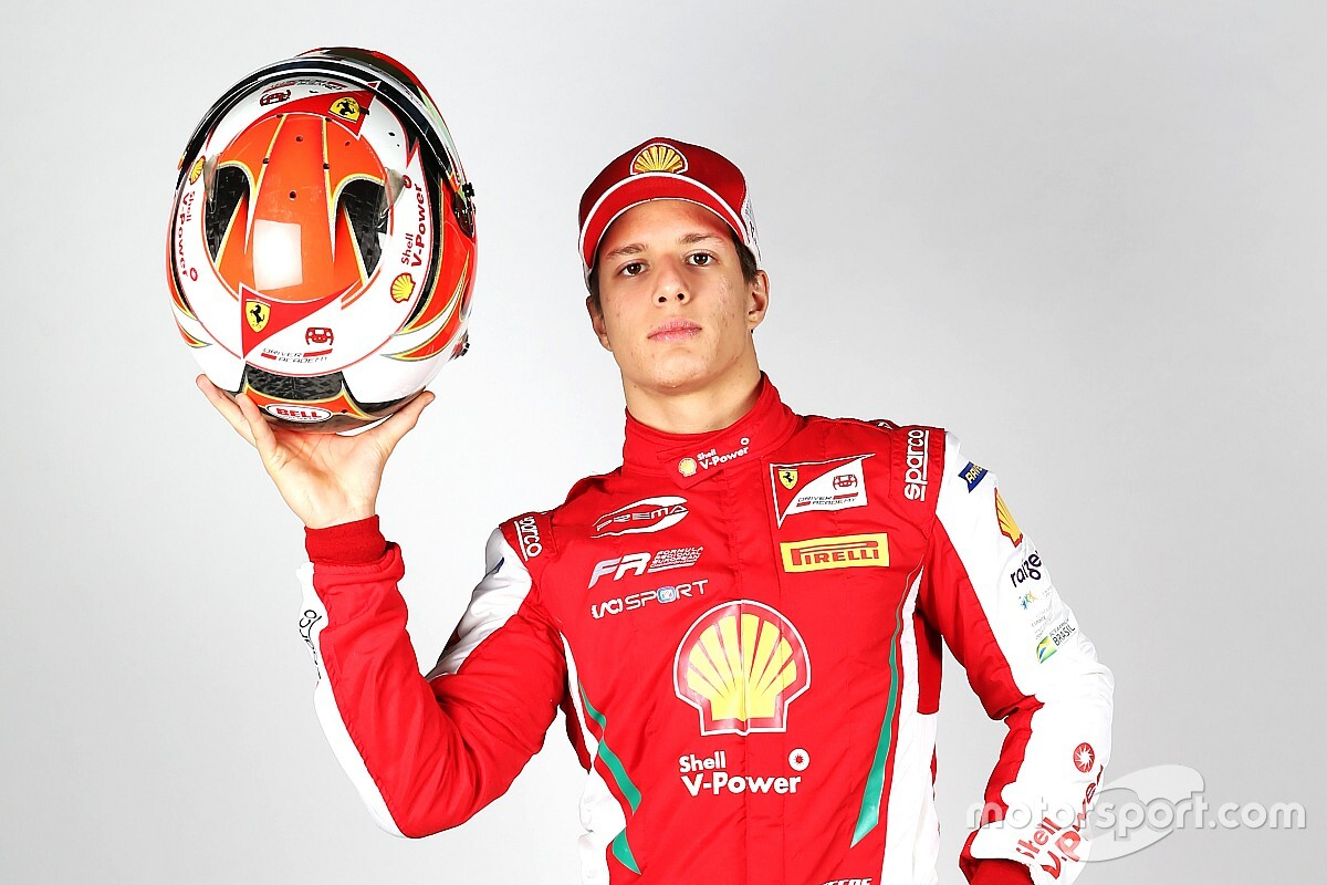 Gianluca Petecof estreia na Fórmula Regional Europeia no fim de semana