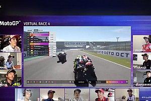 MotoGPバーチャル・ミサノ:アレックス・マルケスが兄下し2勝目。ロッシ地元表彰台
