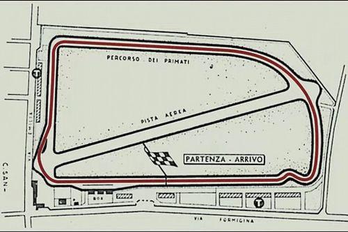 Aerautodromo di Modena: la pista che non c'è più