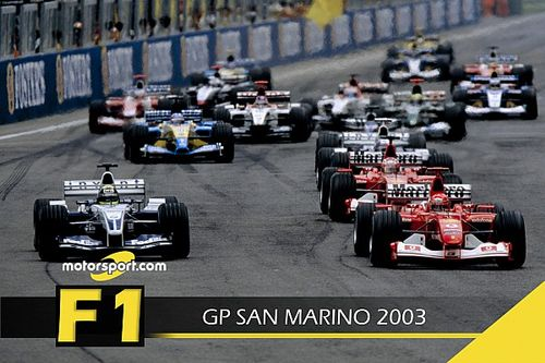 F1 Stories: GP San Marino 2003 a Pasqua