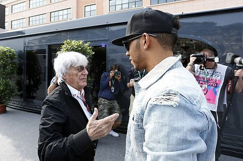 "Hamilton: Lack of F1 diversity under Ecclestone makes ""sense"""