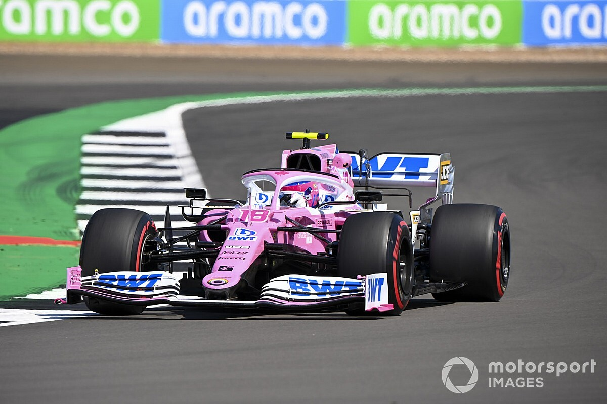 British GP: Stroll leads FP2 as Albon crashes