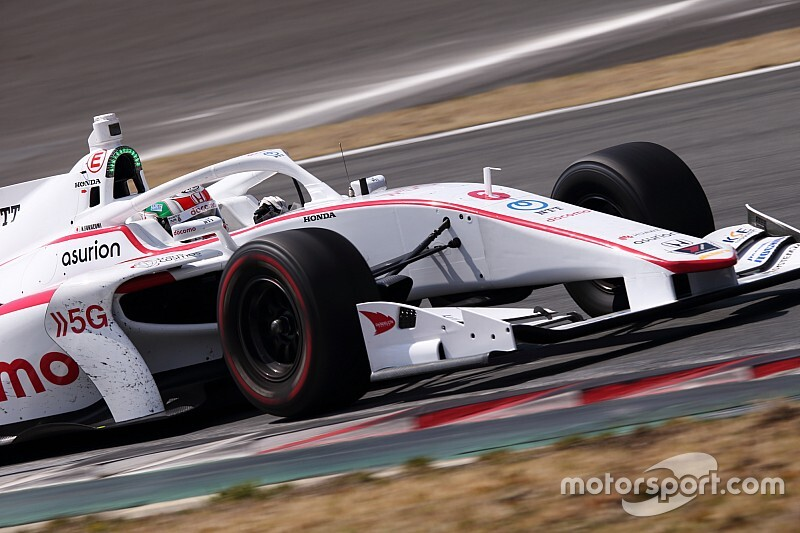 Fukuzumi sweeps final day of Fuji Super Formula test