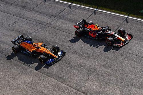 La parrilla de salida del GP de Emilia Romagna de F1