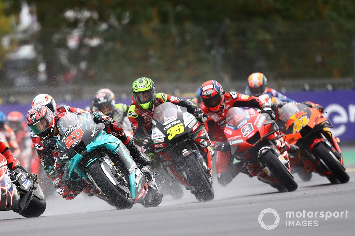 Las fotos de la frenética carrera del Gran Premio de Francia