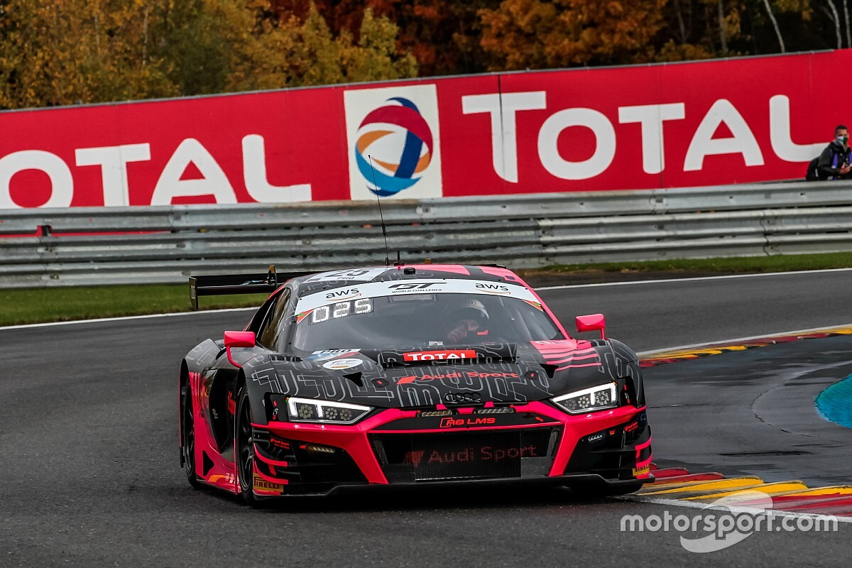 Spa 24 Hours: Audi holds 1-2 at three-quarter distance