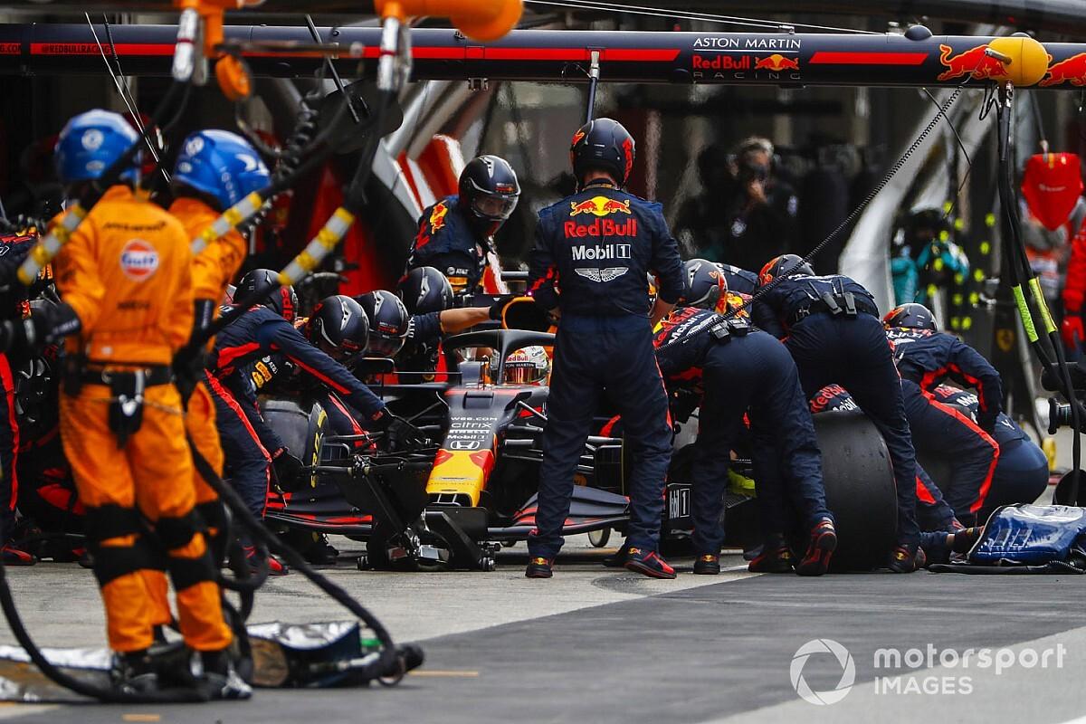 Red Bull, Imola'da yine en hızlı pit stopu yaptı
